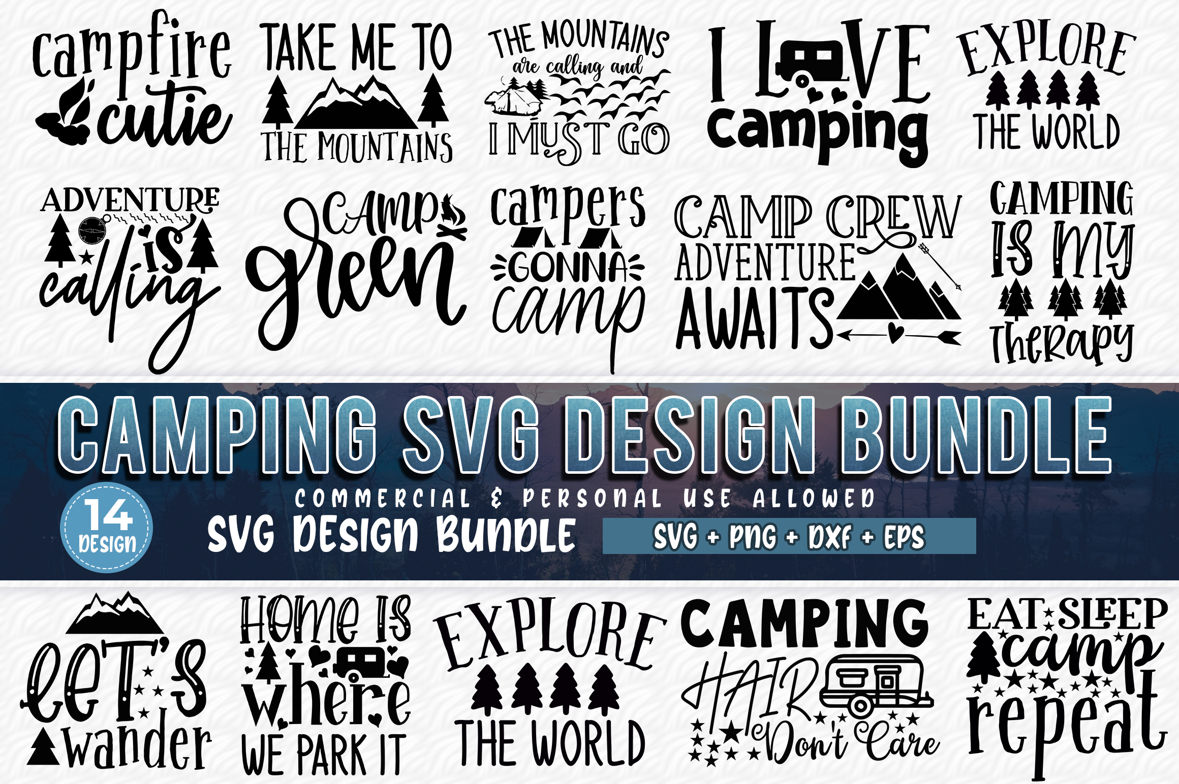 510 SVG DESIGN THE MIGHTY BUNDLE |32 DIFFERENT BUNDLES example image 13