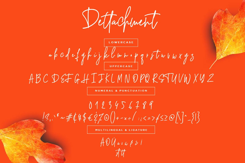 Dettachment Handwritten example image 7