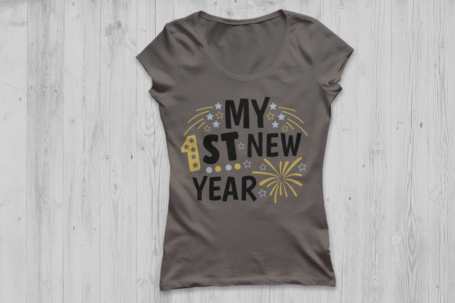 my first new year svg, new years svg, 1st new year 2019 svg. example image 3