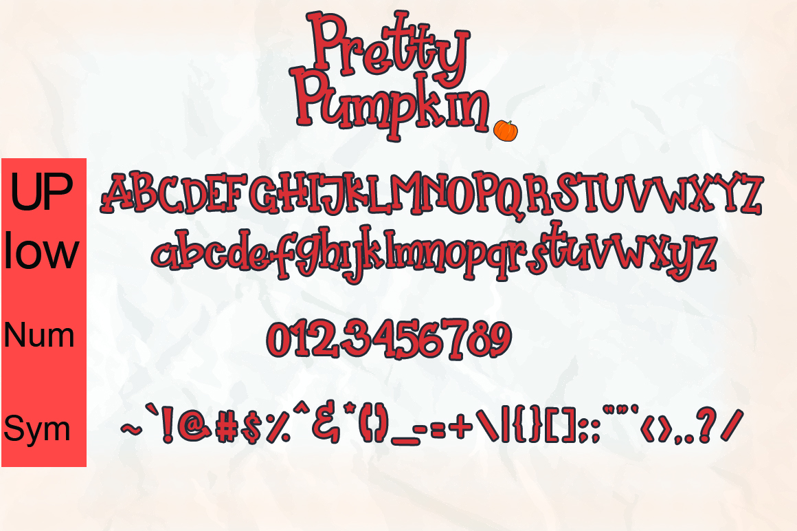 Pretty Pumpkin - Fun Serif Font with Frame example image 13