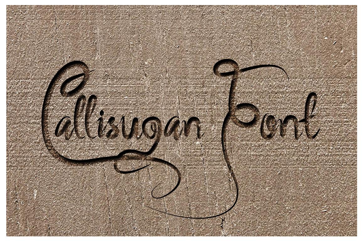 Callisugan example image 1