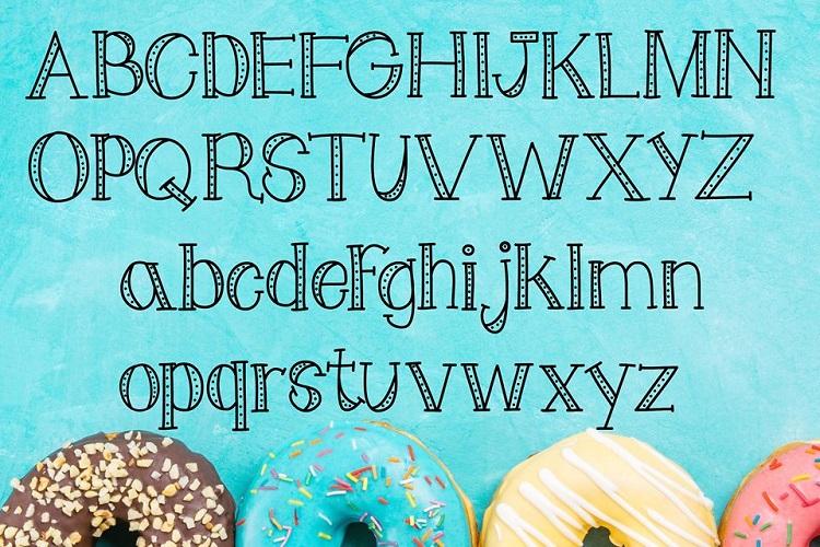 Doughnot Font example image 2