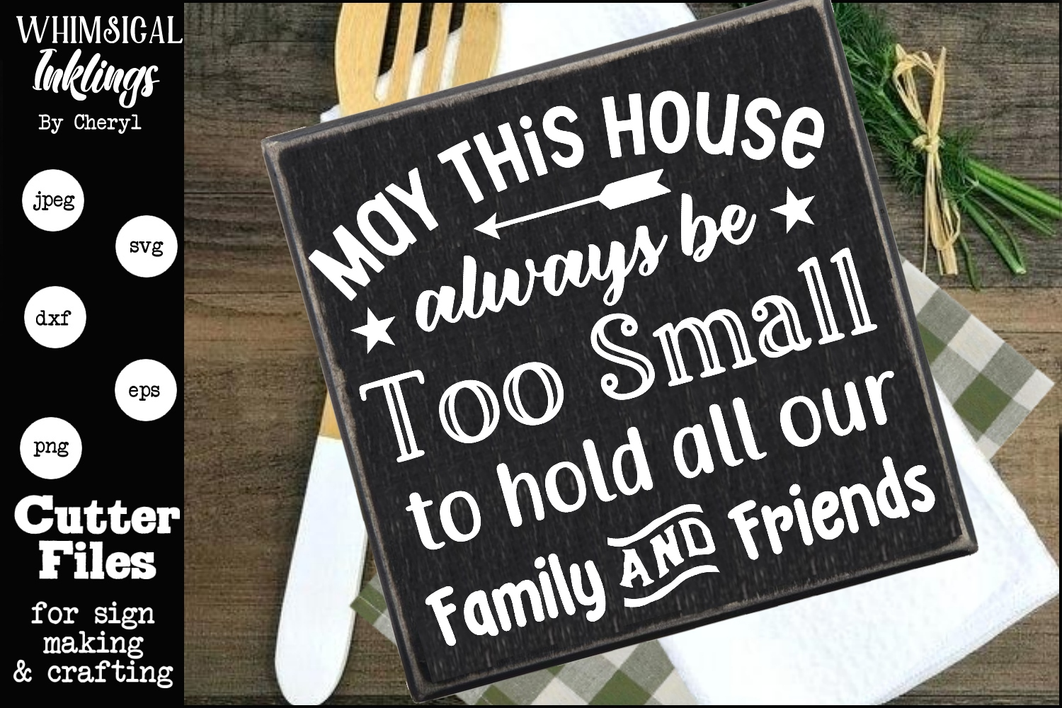 May This House SVG example image 1