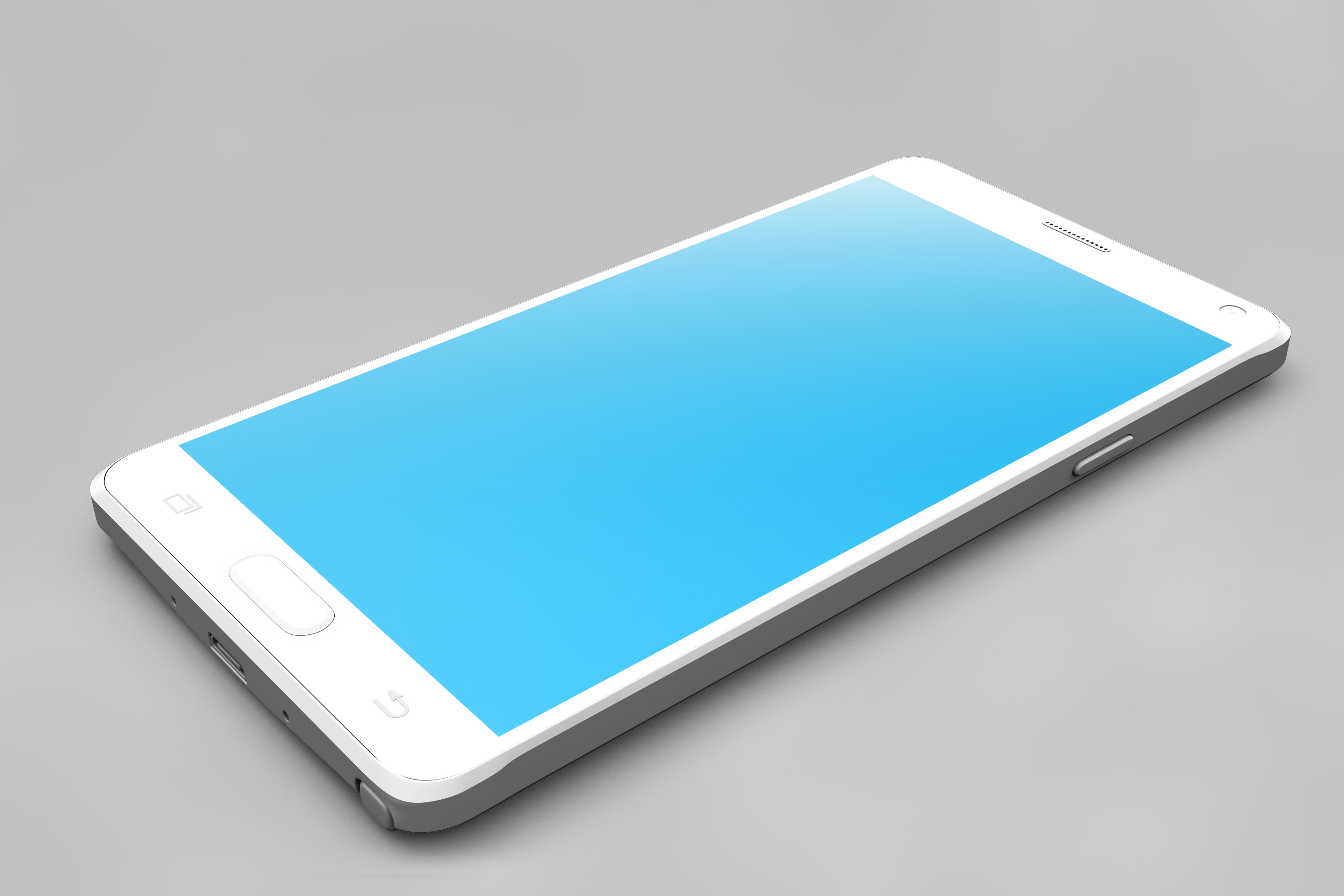 Samsung Galaxy Note 4 Mock-up example image 9