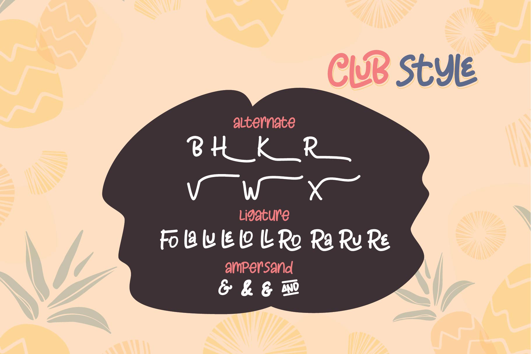 Club Style - 2 Cute Fun Font example image 4