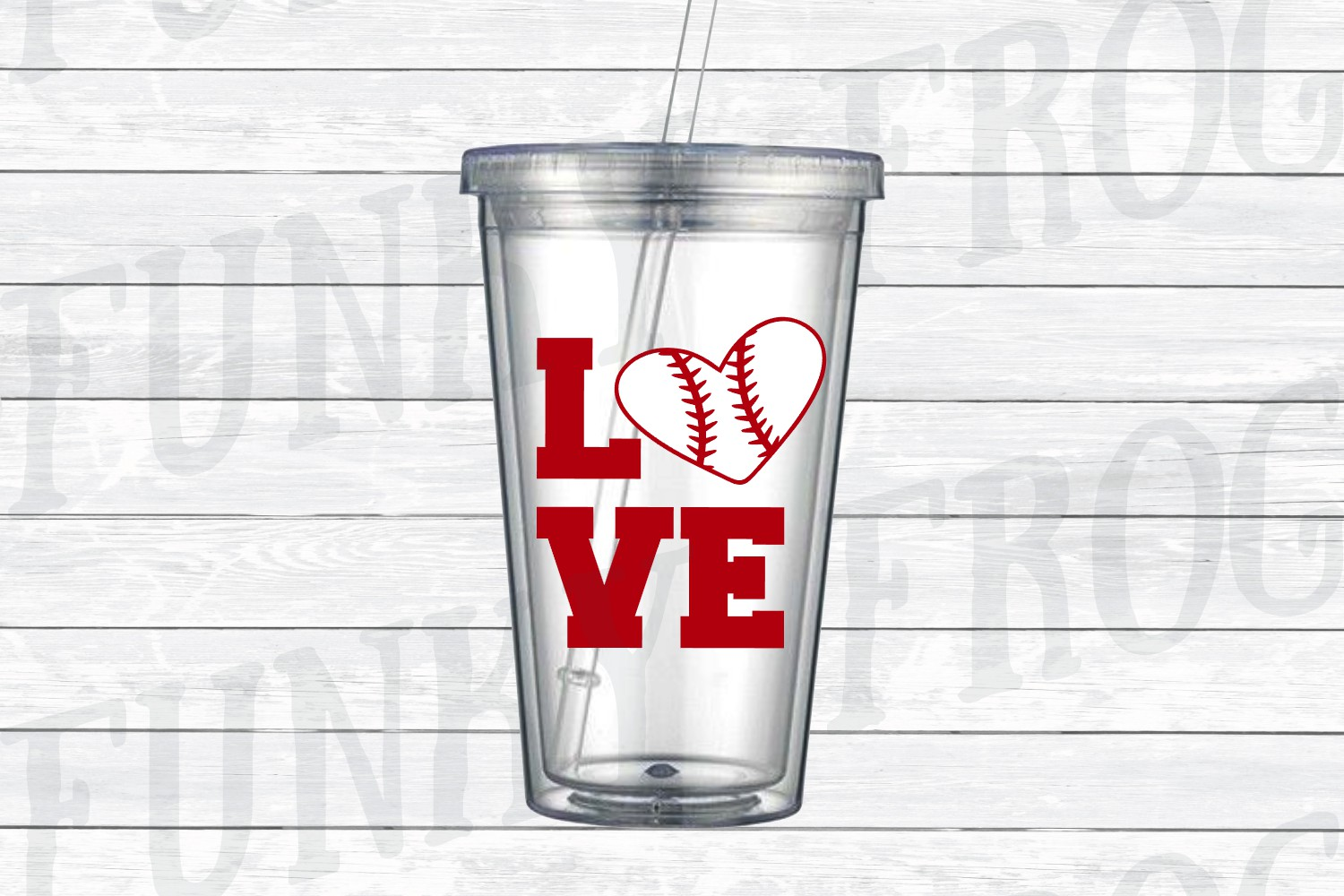 Baseball Love SVG Cut File for Crafters example image 2