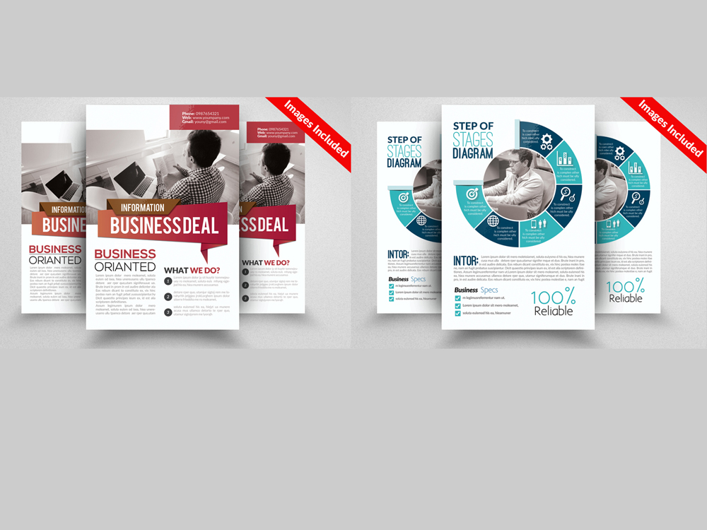 10 Professional Multi Use Business Flyer Bundle example image 2