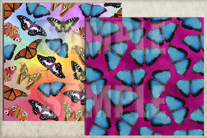 Exotic Butterflies Digital Paper example image 2