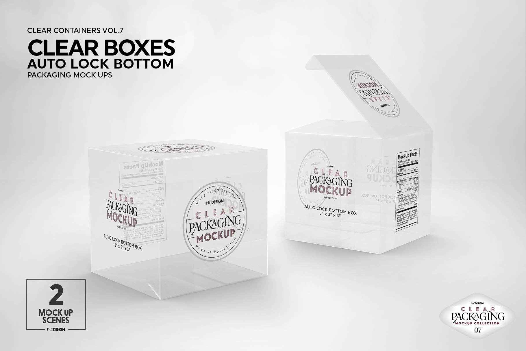 VOL.7 Clear Packaging Mockup Collection example image 24