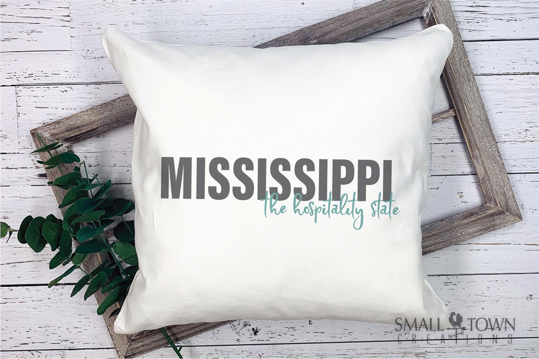 Mississippi, Hospitality state - slogan, PRINT, CUT & DESIGN example image 5