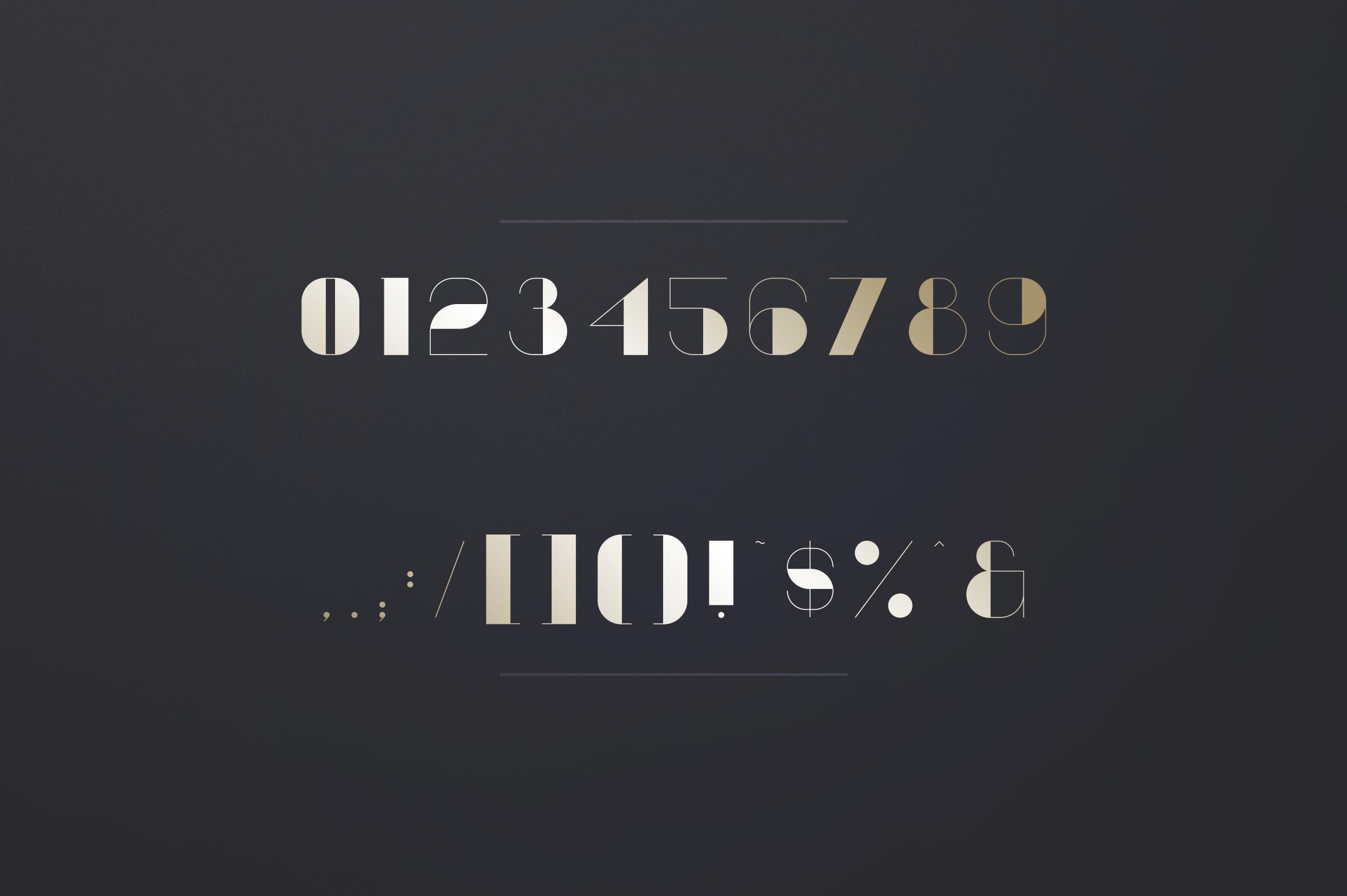 Vovchik Serif Font example image 8