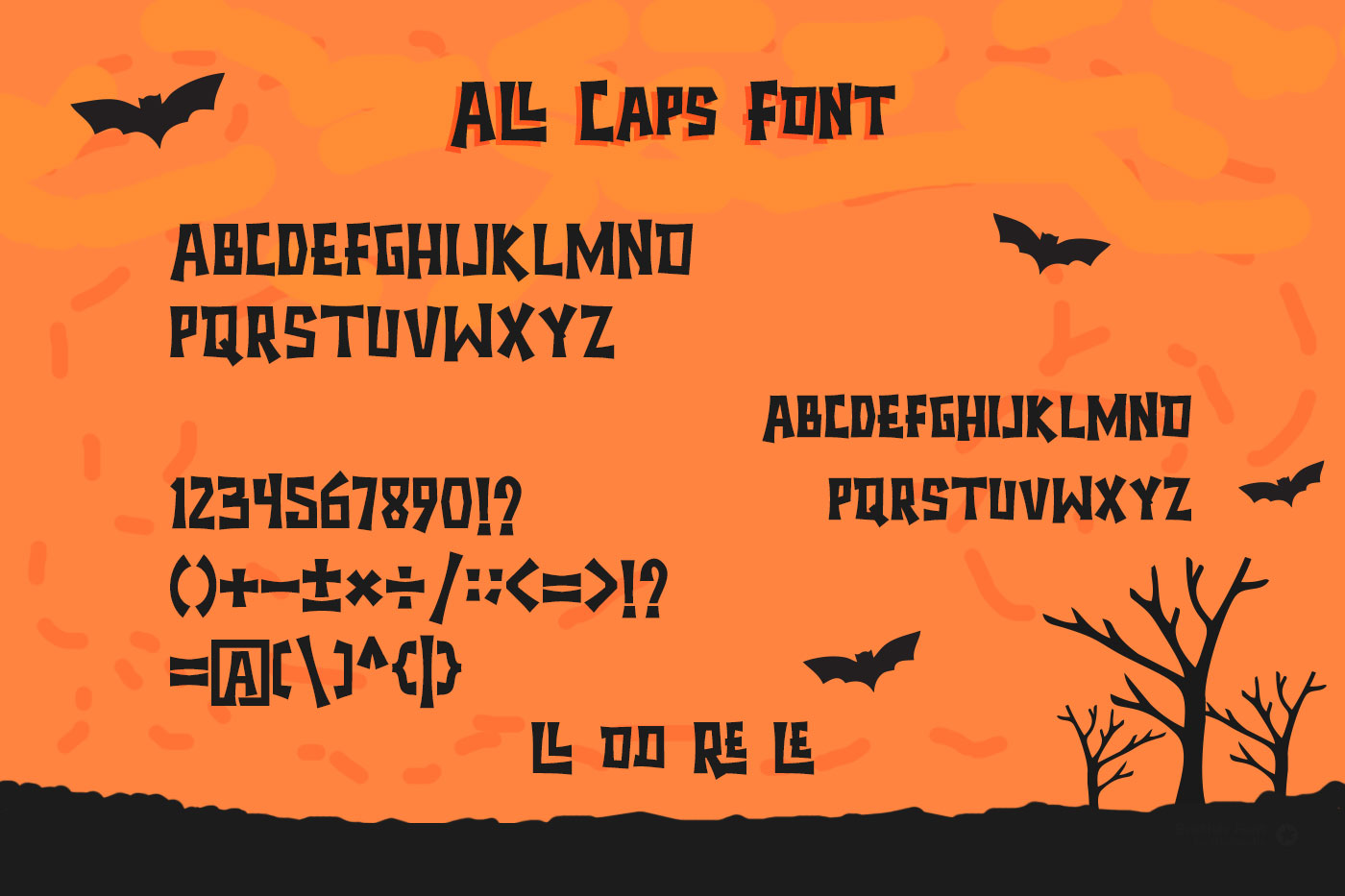 Halloween - Spooky Font example image 5