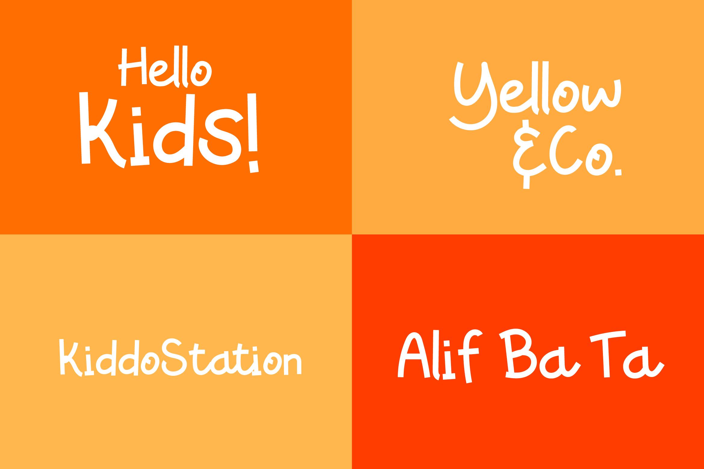 Caramelia - Playful Children Typeface example image 6