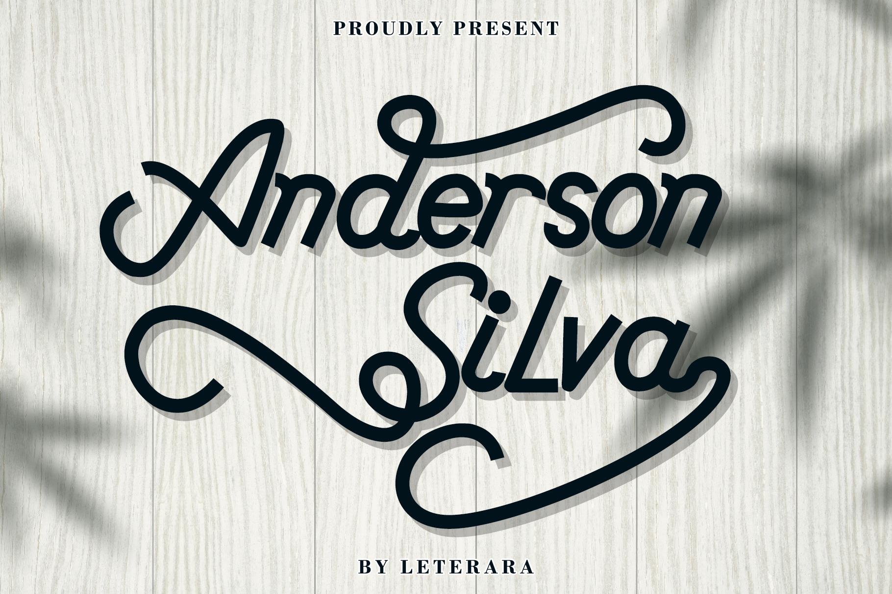 Anderson Silva example image 1