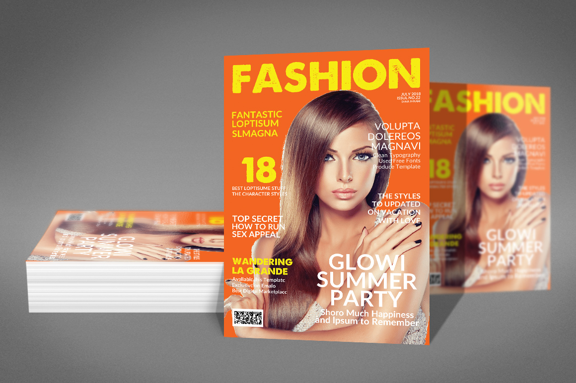 Magazine Template example image 4
