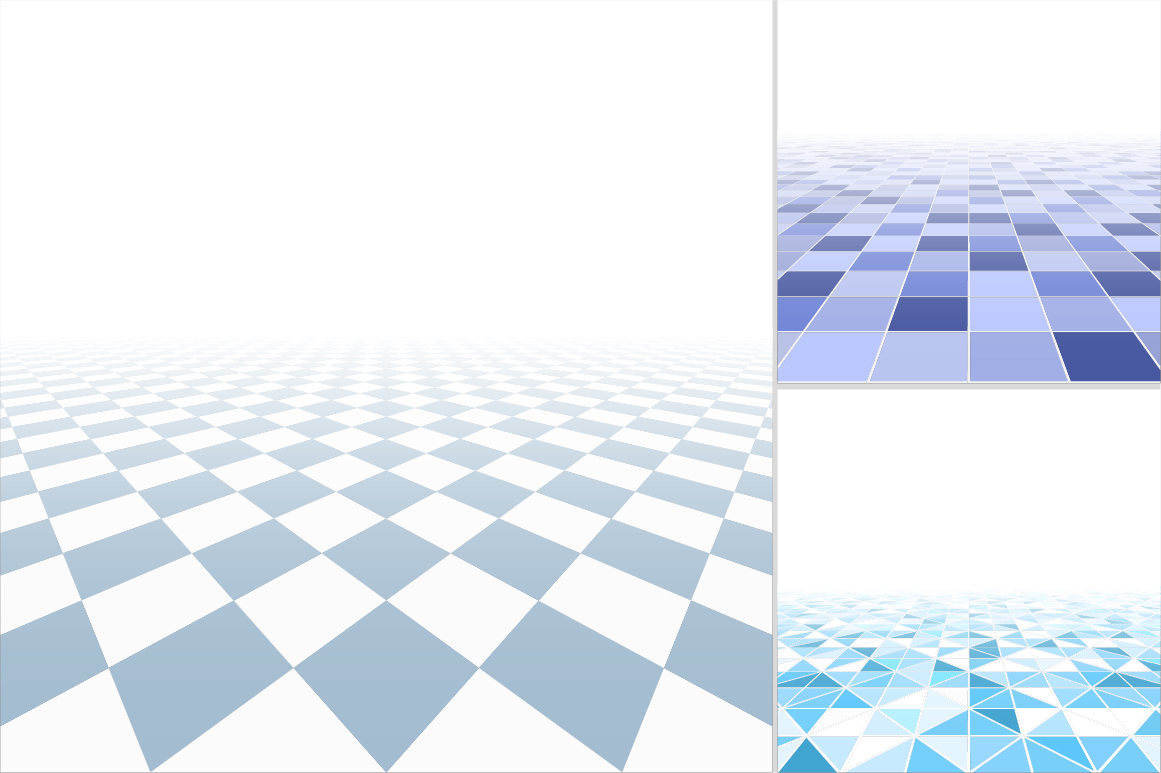 Blue tile abstract backgrounds. example image 7