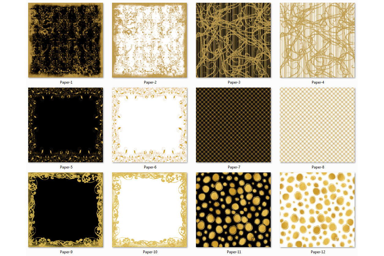 Golden Paper Collection - Paper 2 example image 2