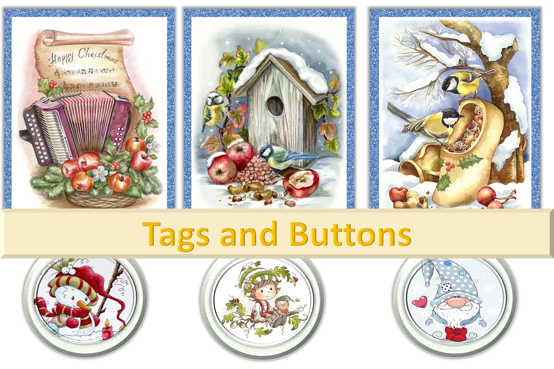 Mega Christmas Craft Bundle COmmercial Use example image 5