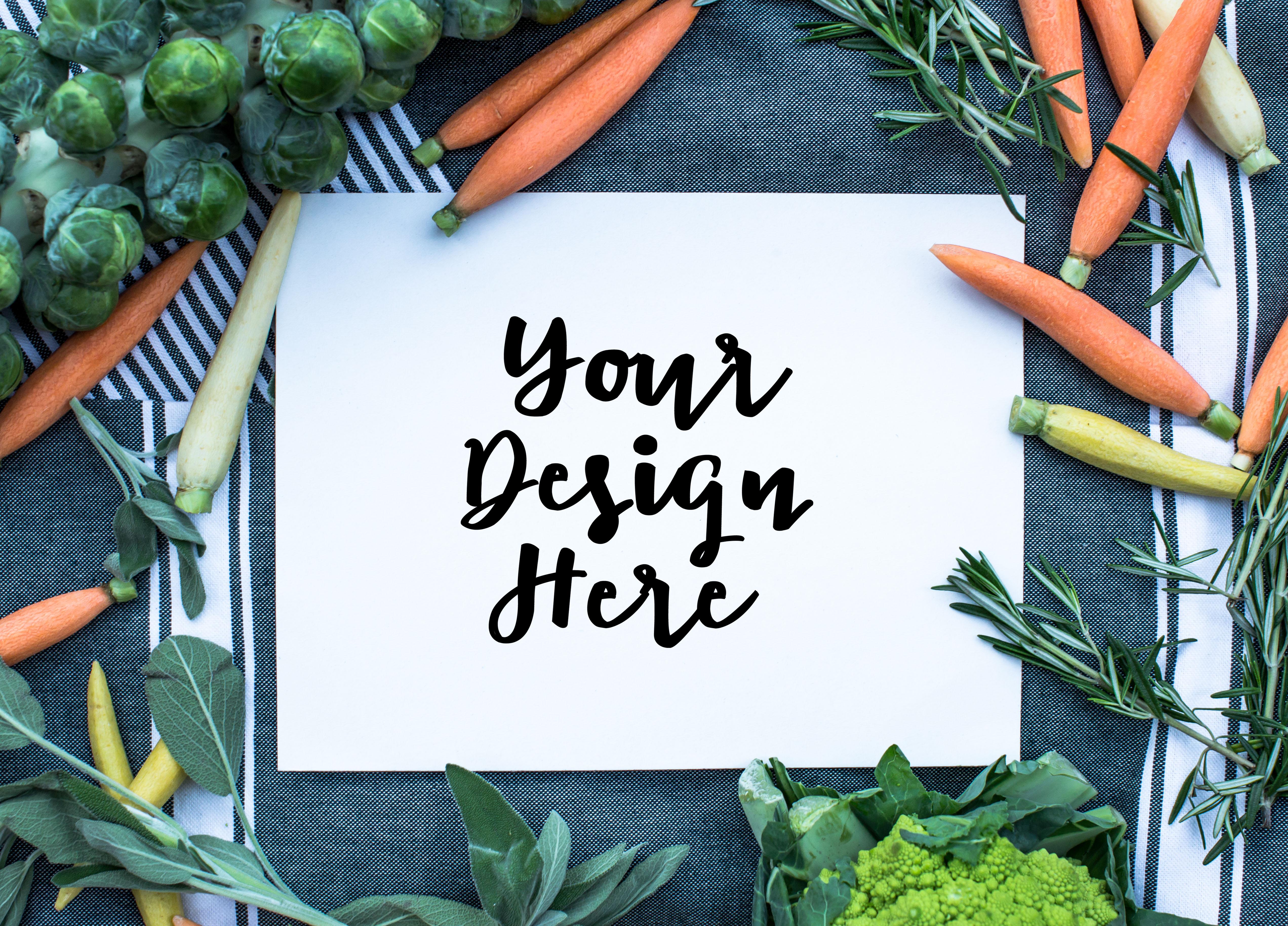 Vegetable mockup example image 1