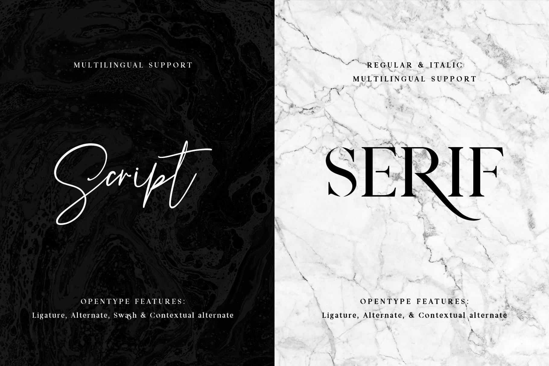 Prestige Signature - Serif & Script example image 6