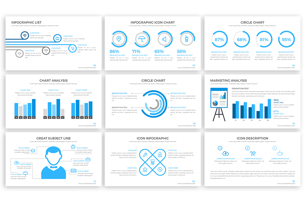 Clear Powerpoint Template example image 6