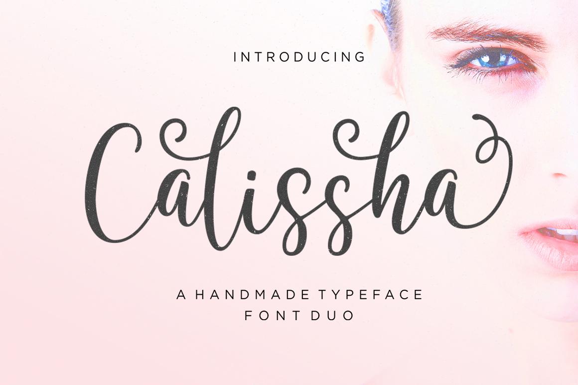 Calissha Font Duo example image 1