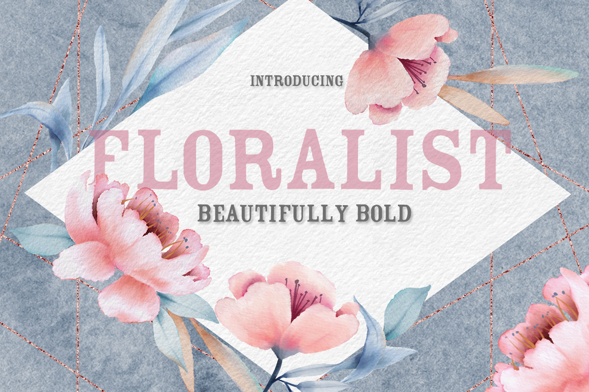 The Floralist Font example image 1