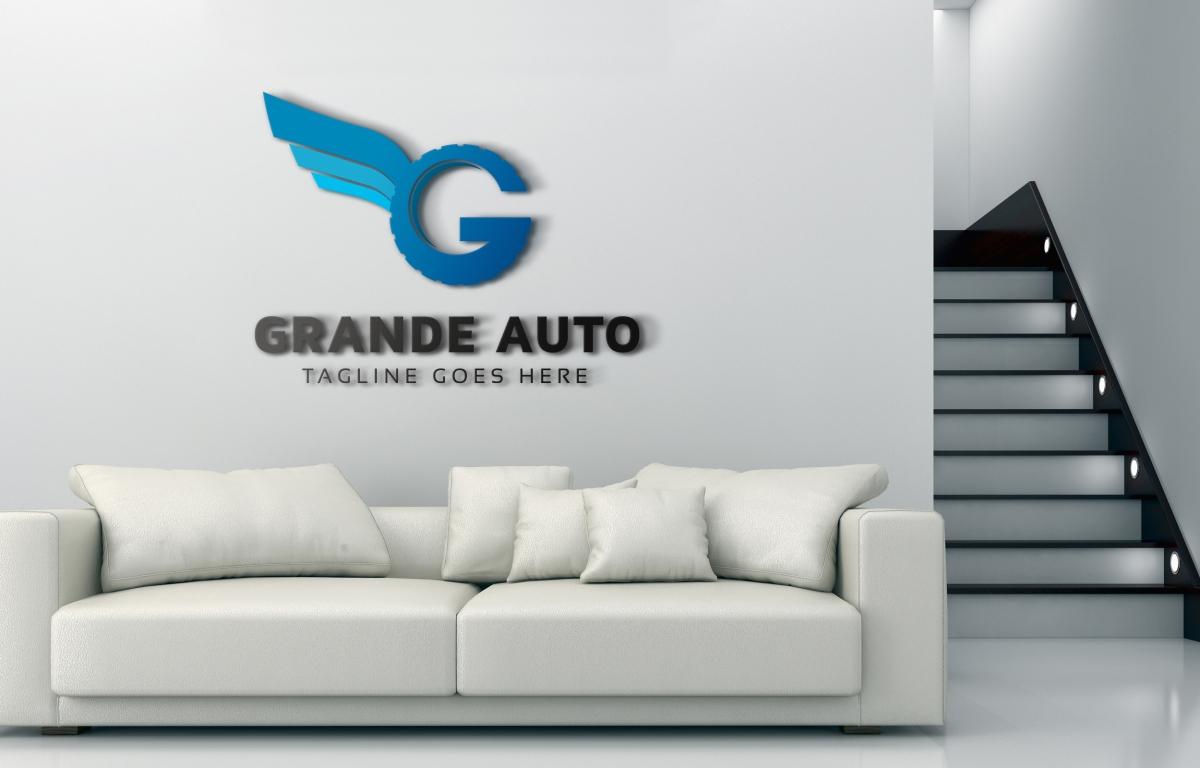 Grande Auto G Letter Logo example image 4