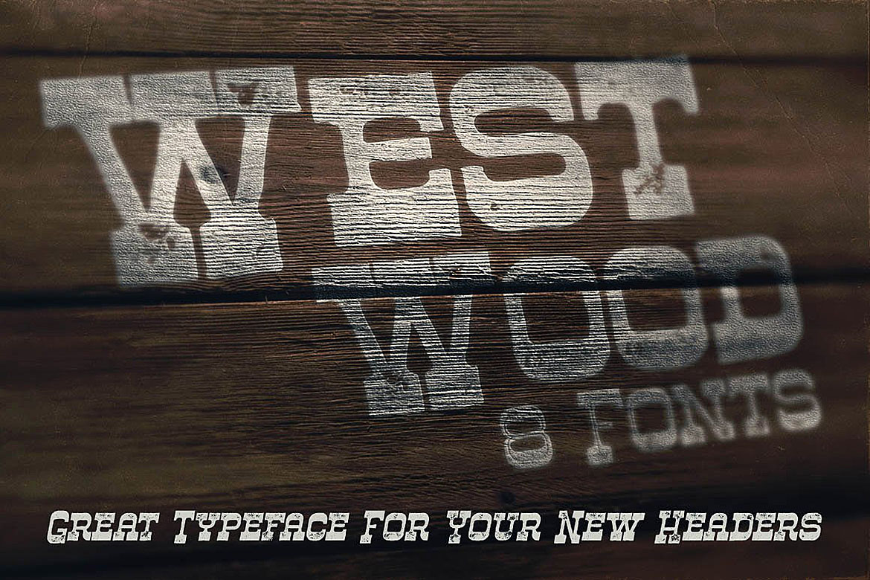 Westwood - Funny Western Font example image 4