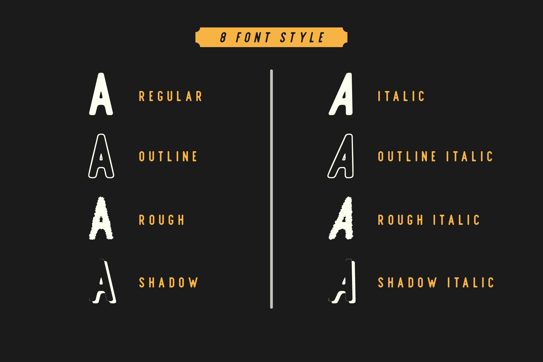 Offlander - Font Family example image 2