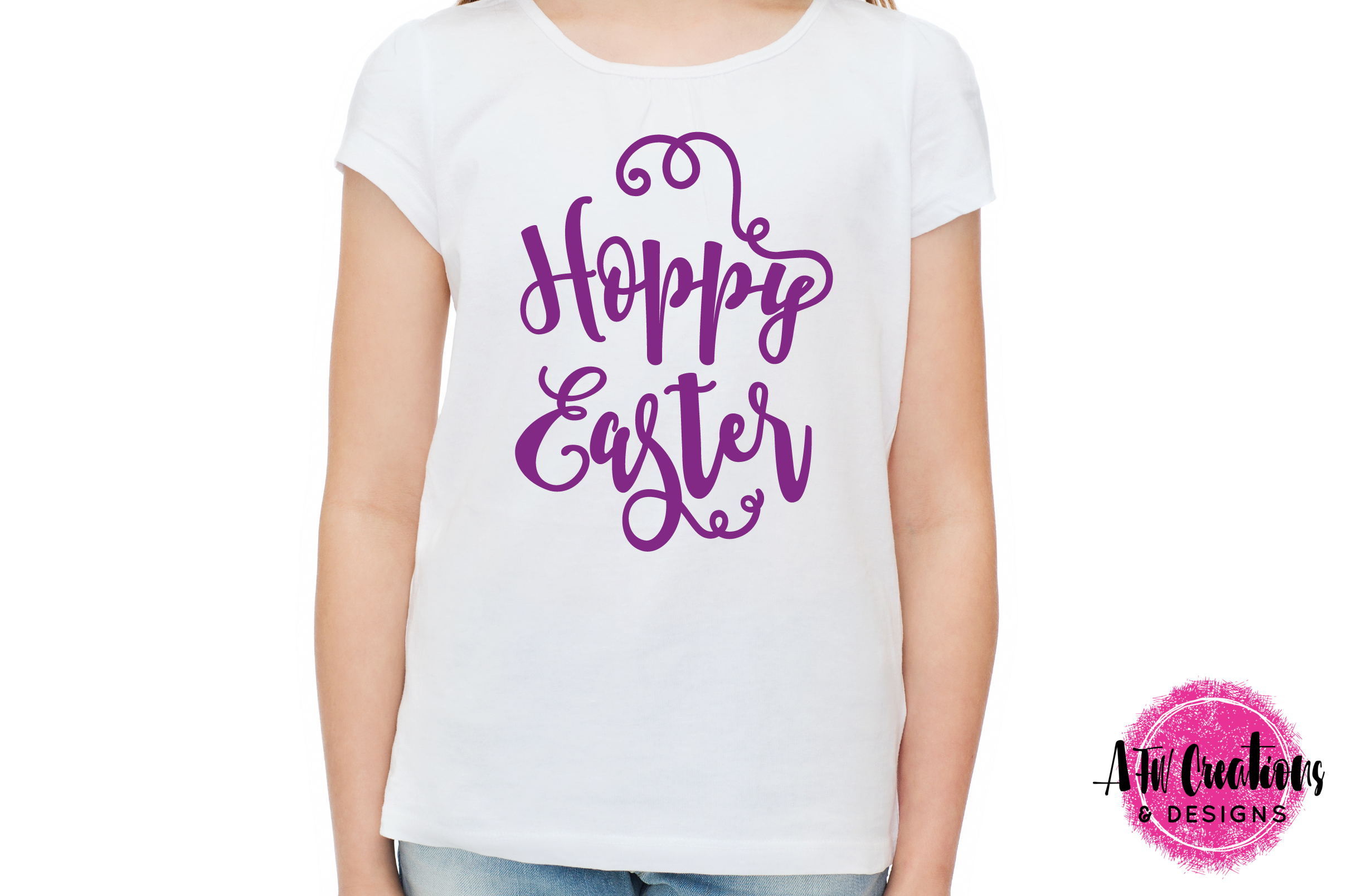 Hoppy Easter - SVG, DXF, EPS Cut Files example image 2