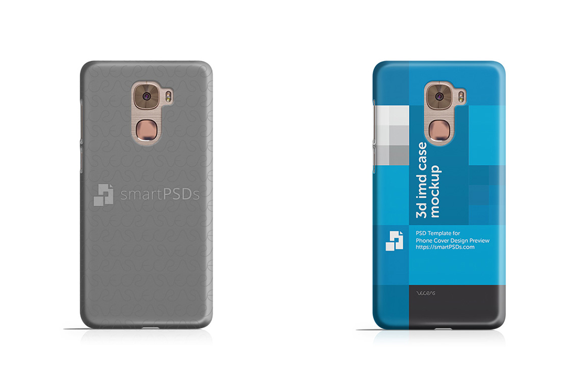 LeEco Le Pro 3d IMD Mobile Case Design mockup example image 1