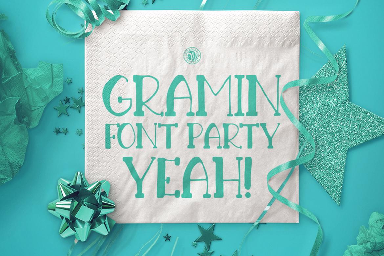 Gramin Font example image 3