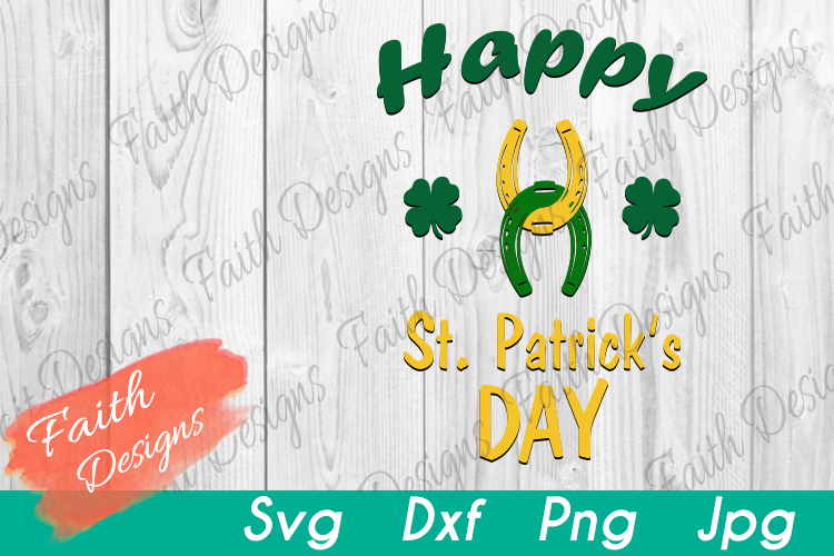 Happy St. Patrick's Day Horseshoes example image 2