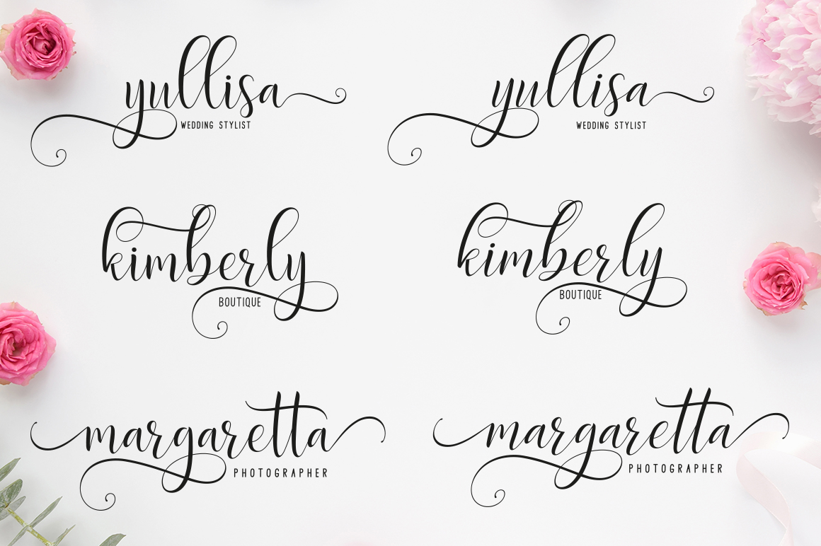 Delight Script | 4 Font example image 5