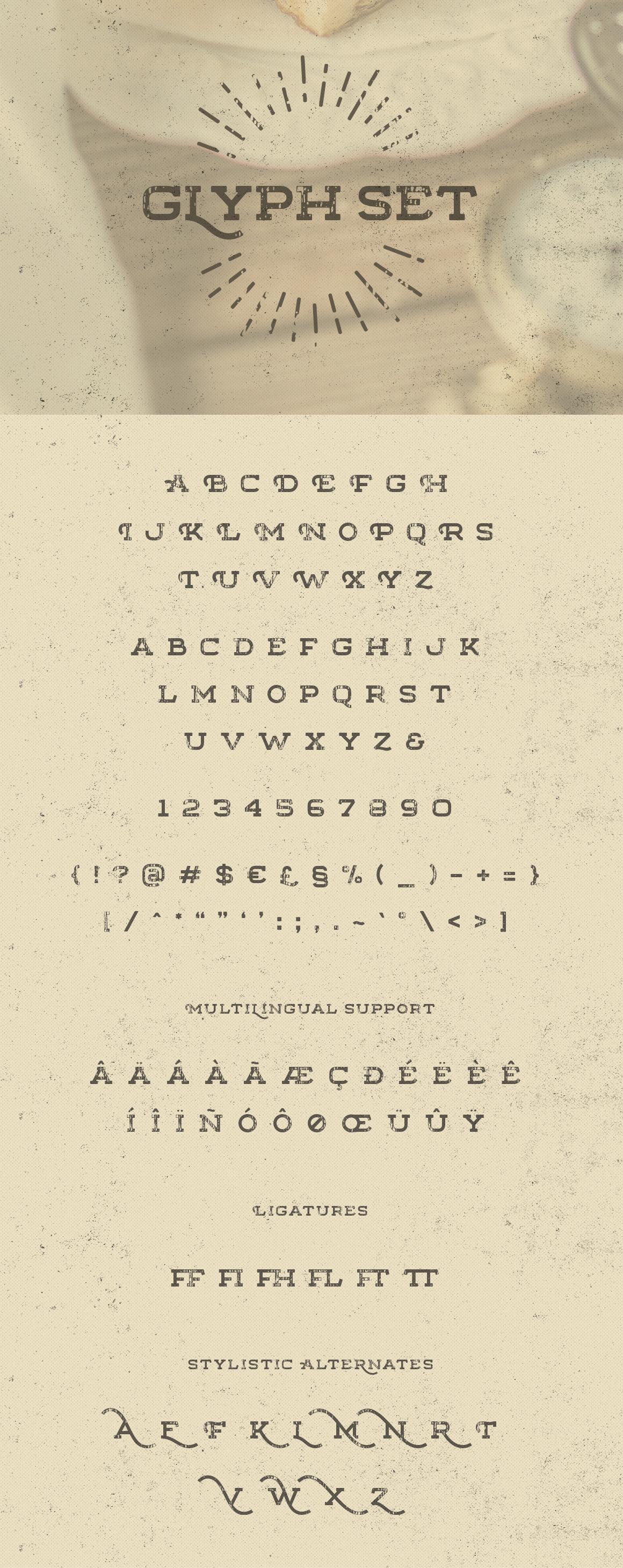 Floure Typeface + Extras example image 10