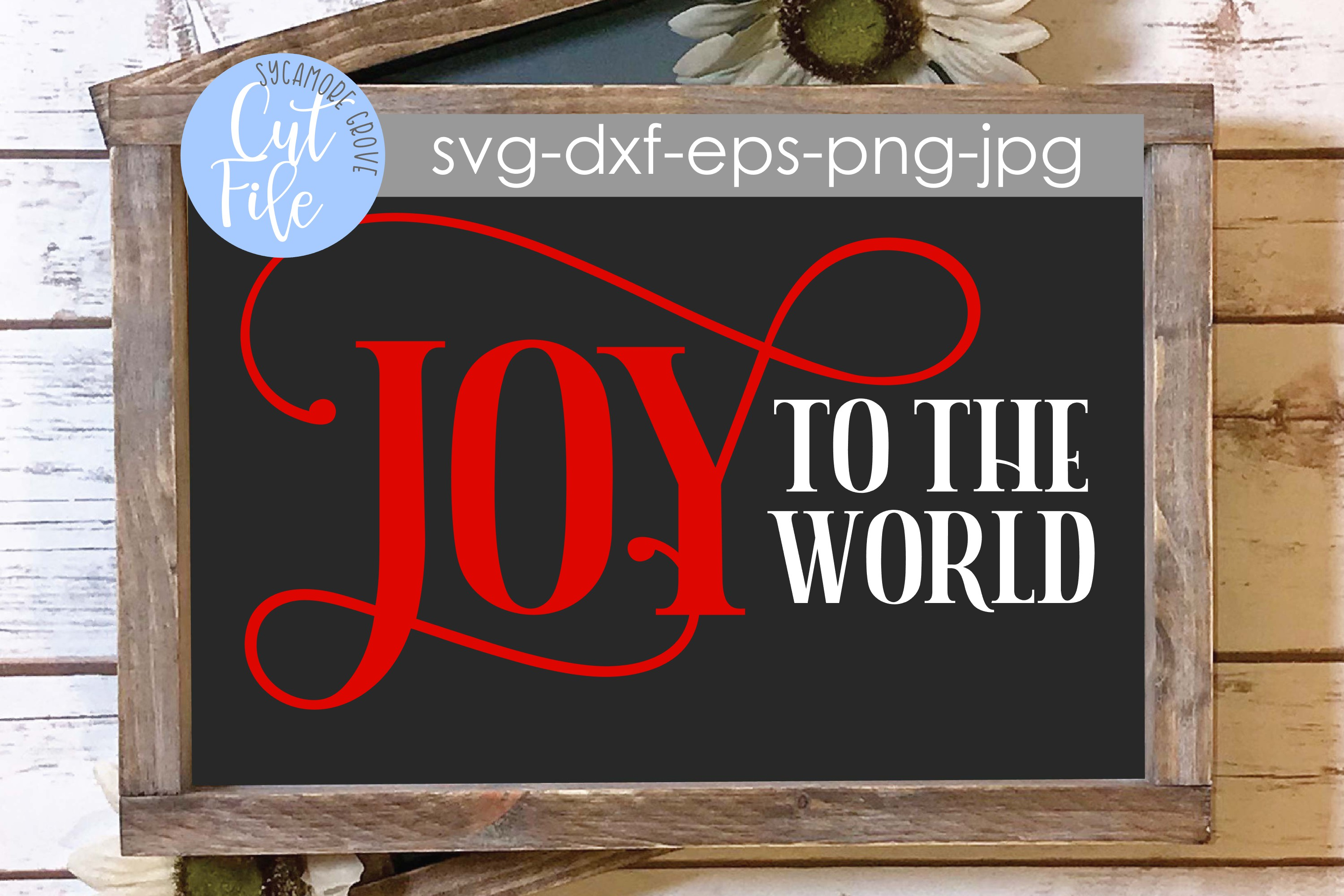 Joy To The World | Christmas SVG example image 6