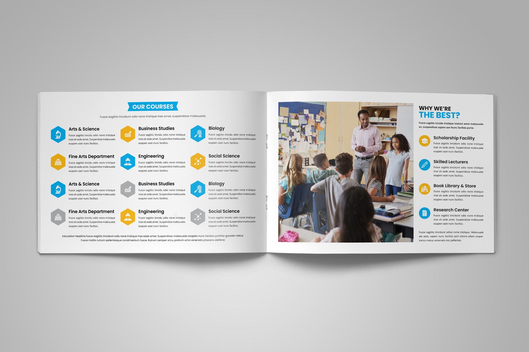 Education Prospectus Brochure v9 example image 4