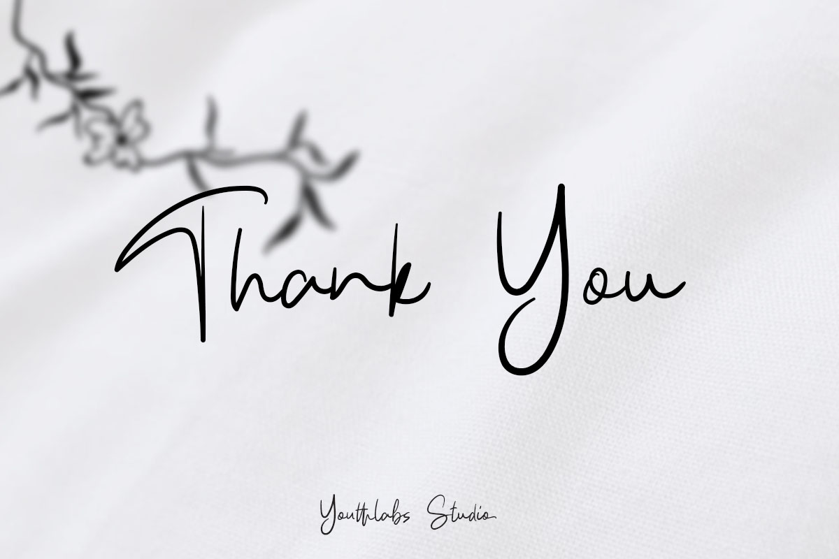 Kathlyn Signature Font example image 11
