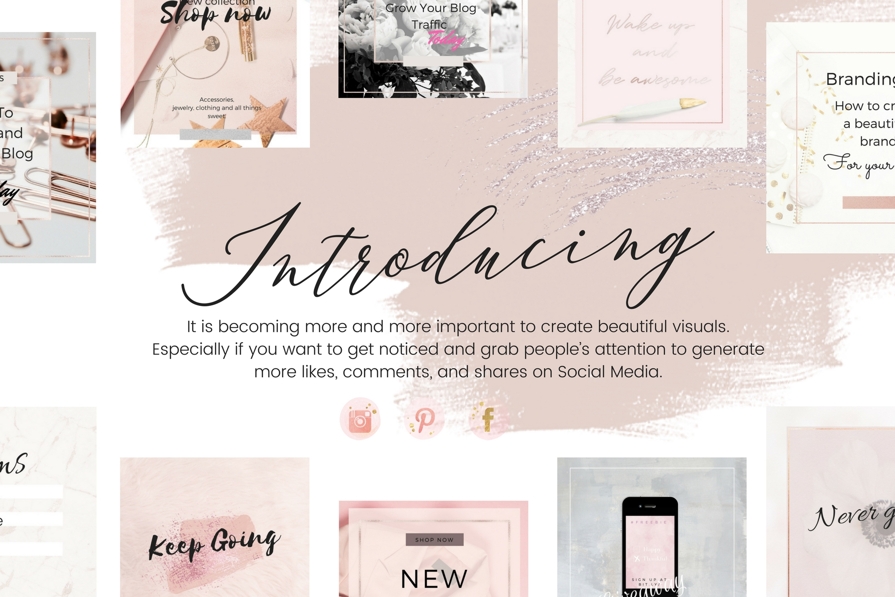 CFY - Sweet pink Social media example image 2