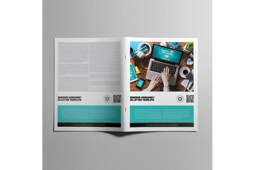 Branding Worksheet US Letter Template example image 2