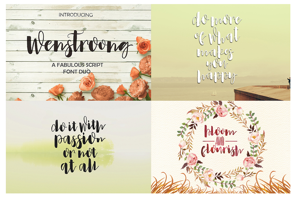 The Handlettered Font Collection example image 10