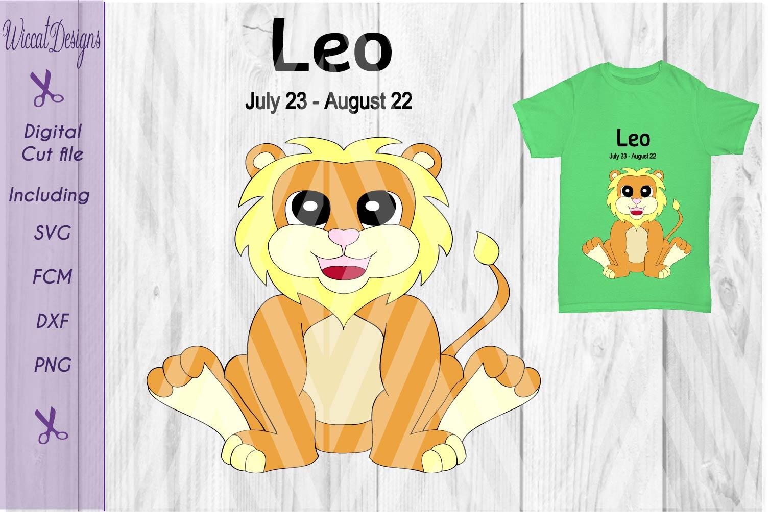 Lion svg, Leo svg, Star sign svg, Zodiac sign svg, example image 2