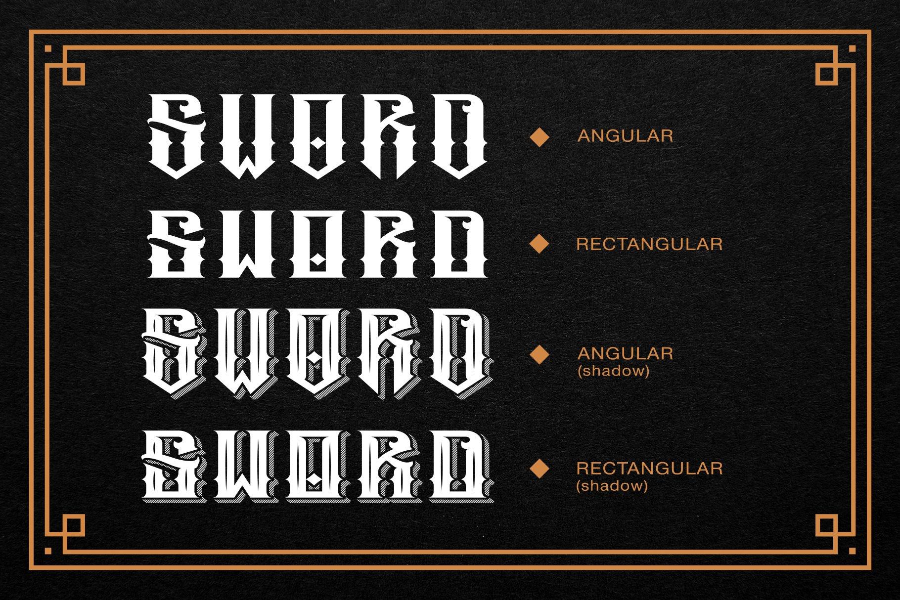 Sword Font Logo Creator example image 7