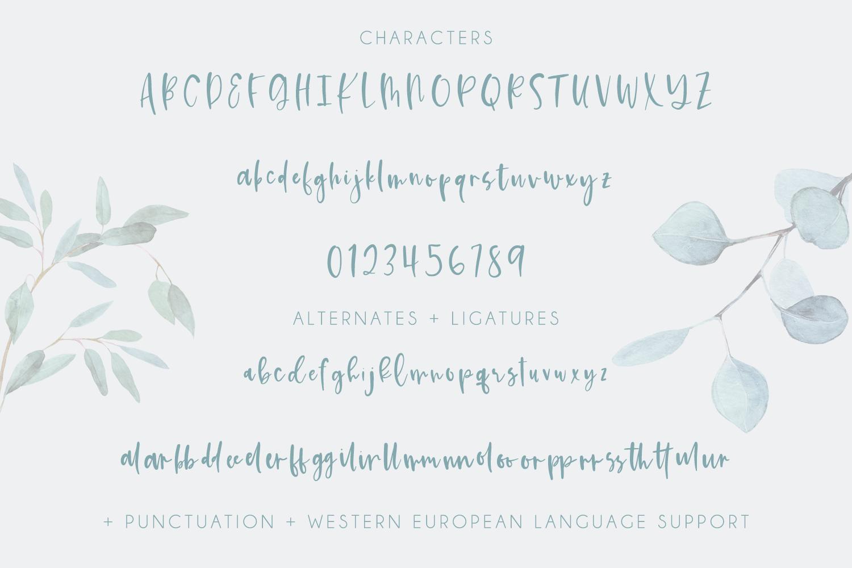 Kismet Handlettered Font example image 10