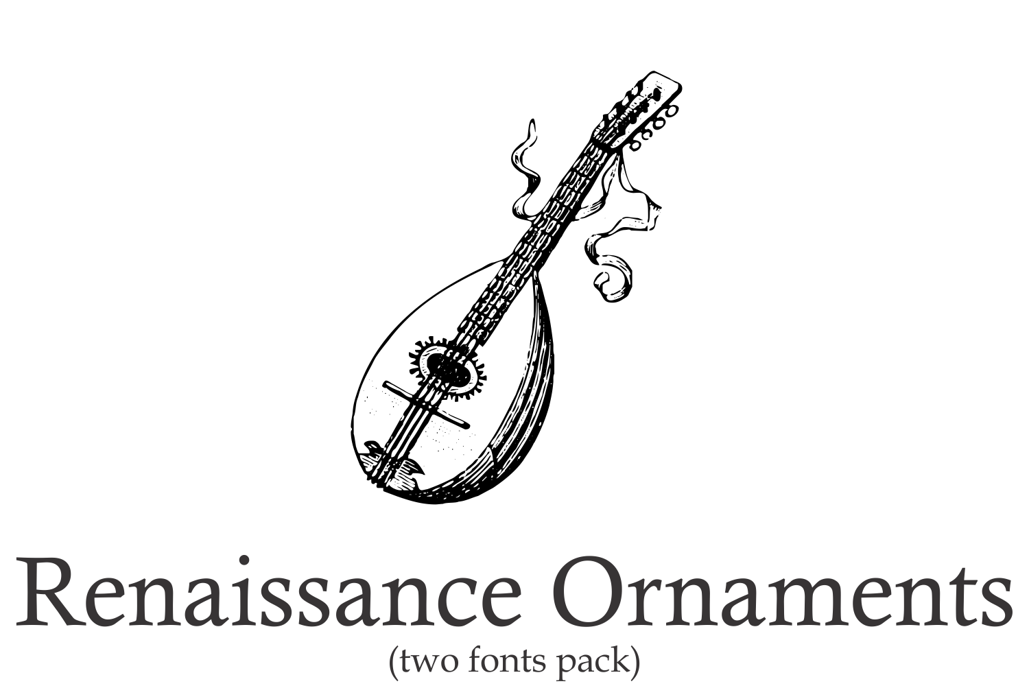 Renaissance Ornaments (PACK) example image 1