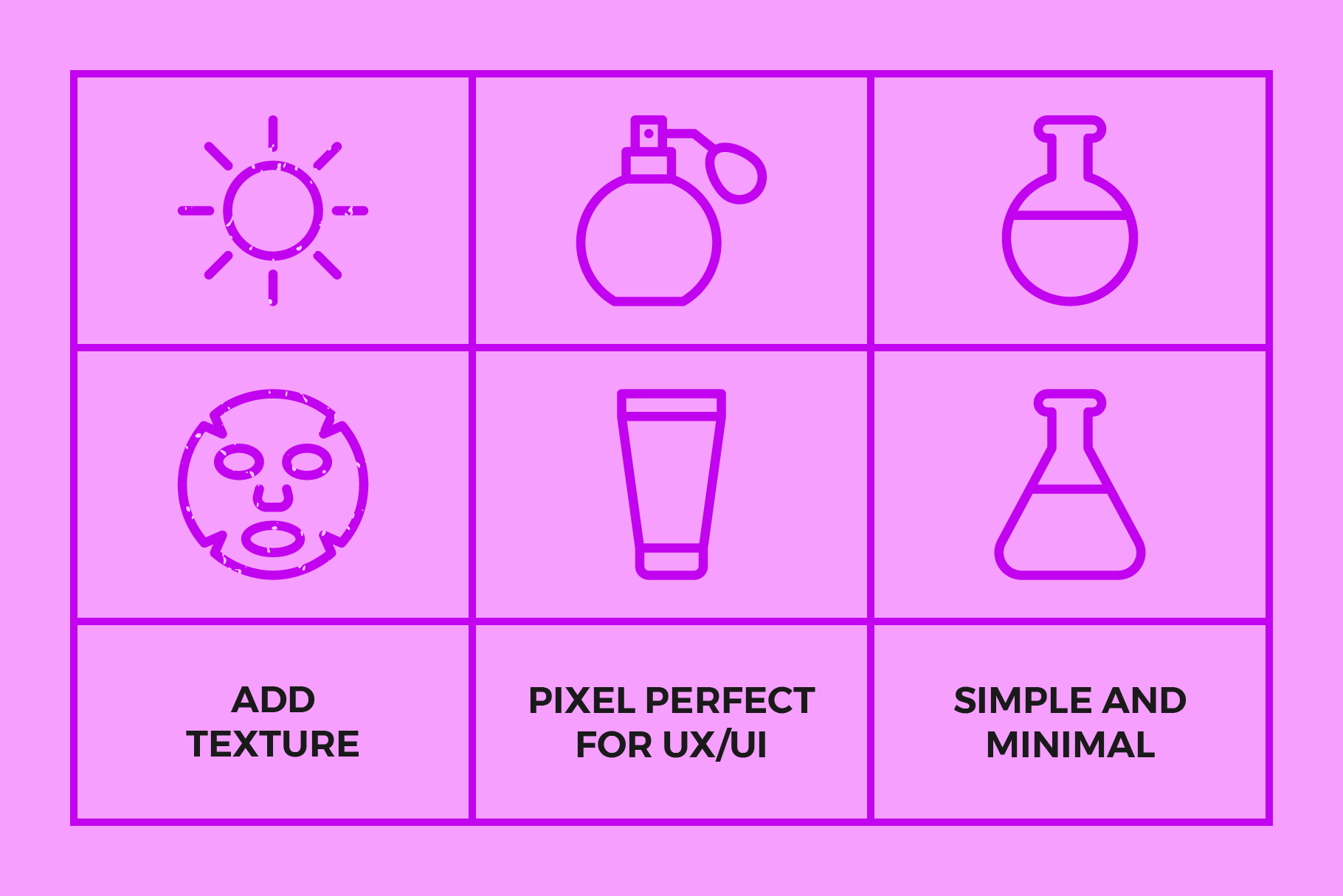 Cosmetic Packaging Symbols | Icons example image 3