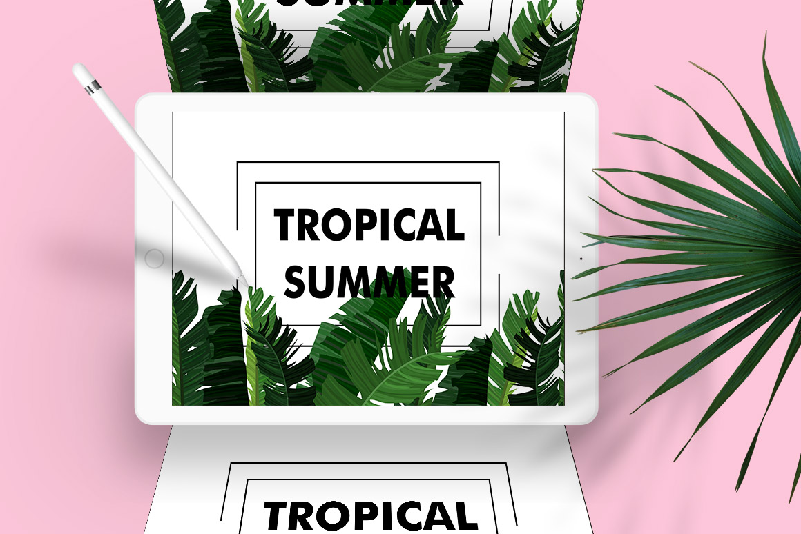 Tropical Summer Patterns + Bonus! example image 6