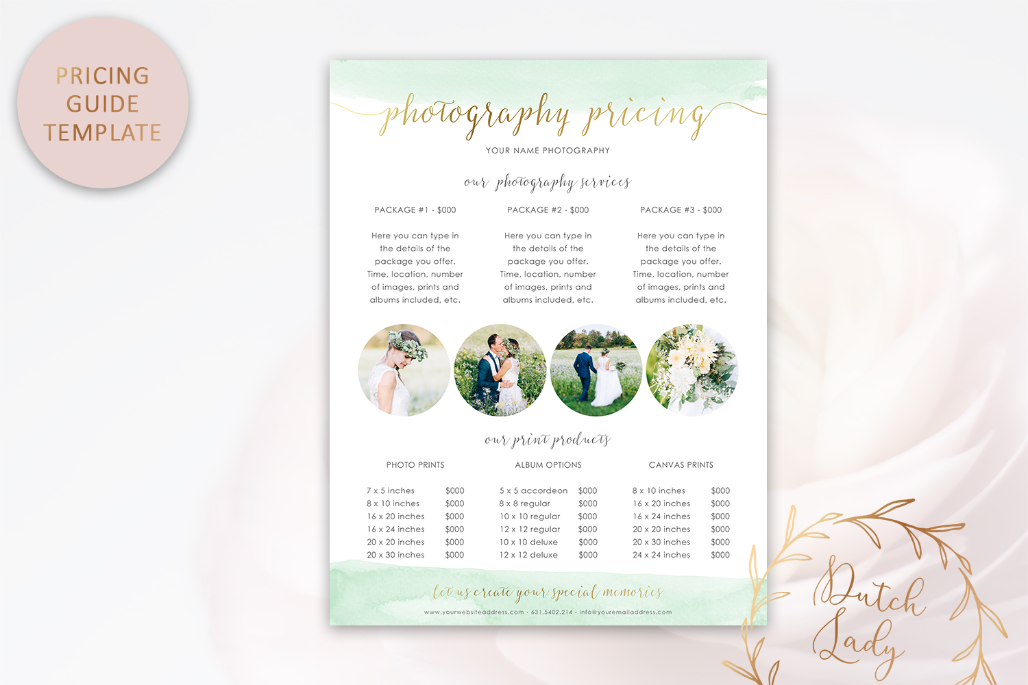 Photography PSD Template Bundle #1 example image 2