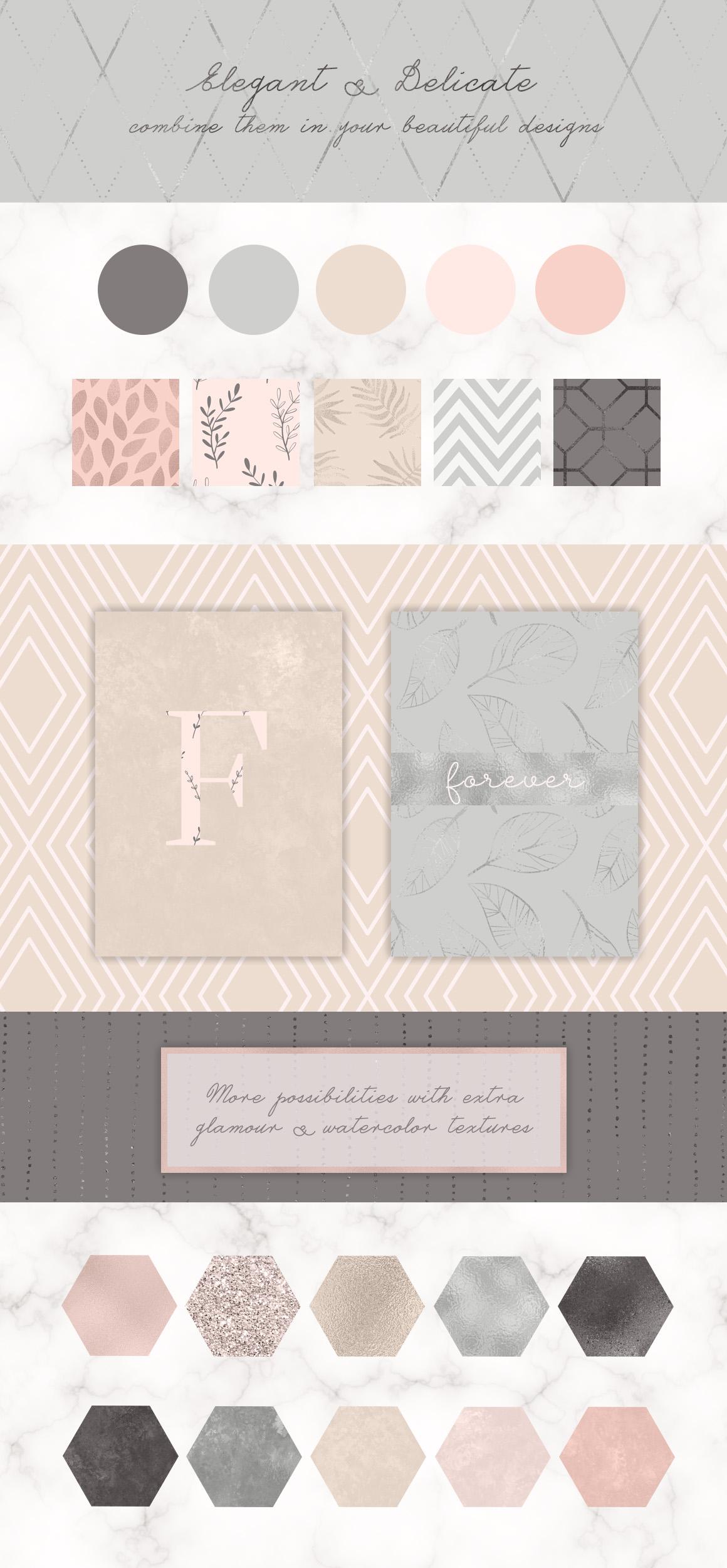 Delicate & Elegant Collection, set II example image 2
